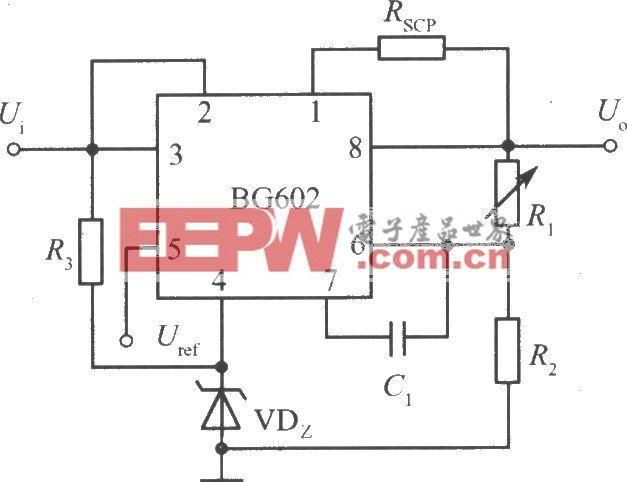 垫高零电位的高输出电压集成稳压电源(BG602)