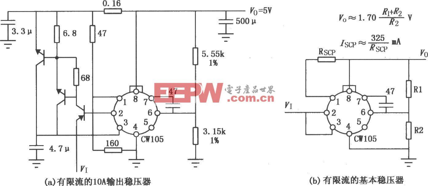 CW105/205/305限流稳压器