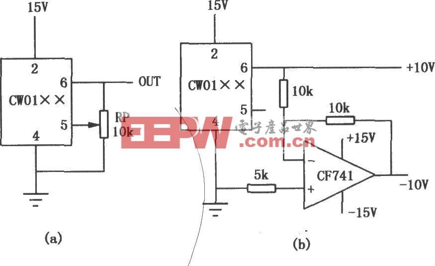 CW01××系列输出电压可调集成稳压器