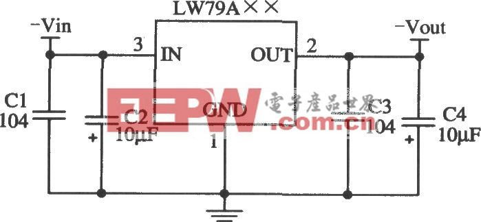 LW79A××的典型应用电路