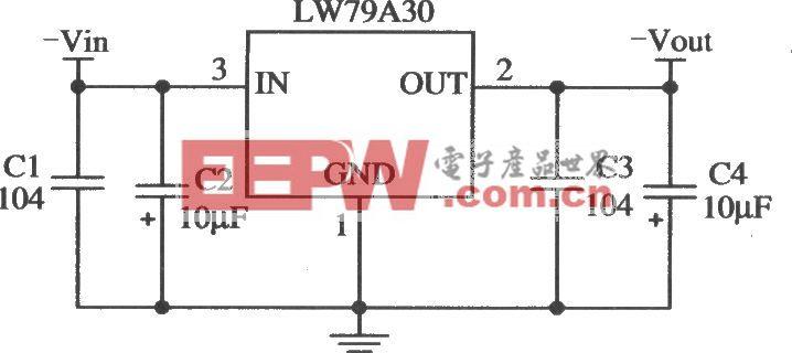 LW79A30的典型应用电路