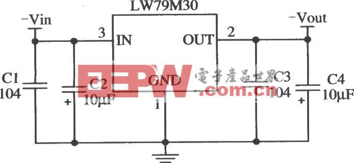 LW79M30的典型应用电路