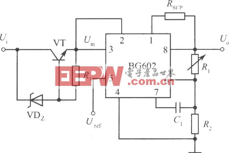 高输入电压集成稳压电源电路之二(BG602)