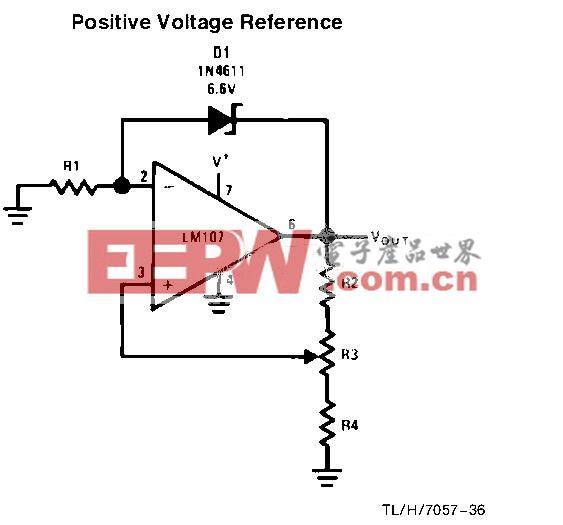 正参考电压电路