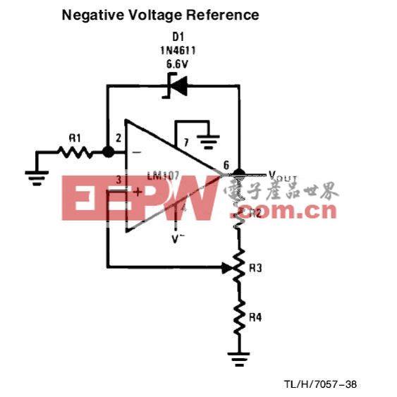 负参考电压电路