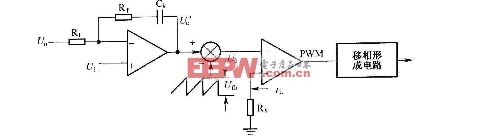 峰值电流的反馈电路
