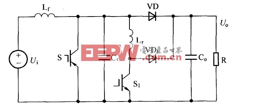 普通Boost ZVT-PWM变换器
