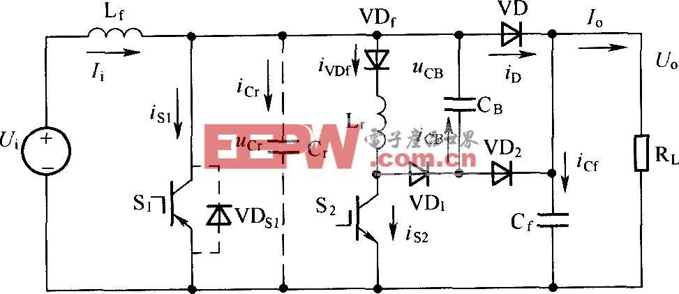 改进的ZVT-PWM变换器拓扑