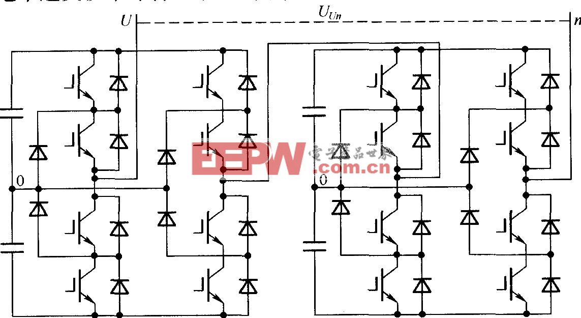 基于中性点钳位式的级联多电平逆变器单相拓扑结构