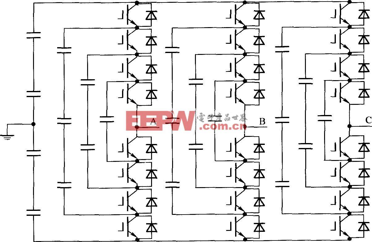 飛跨電容鉗位型5電平變換電路
