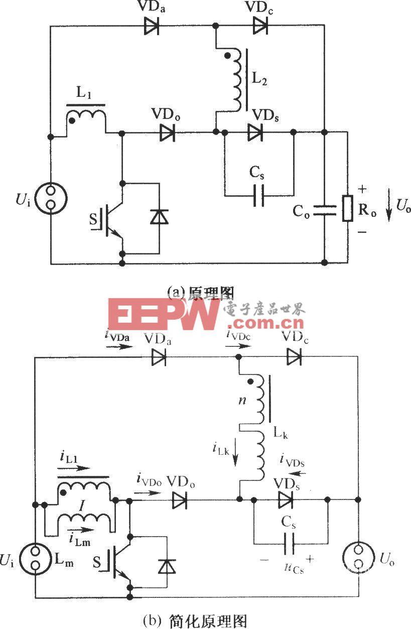 具有最小电压应力的无源无损缓冲电路