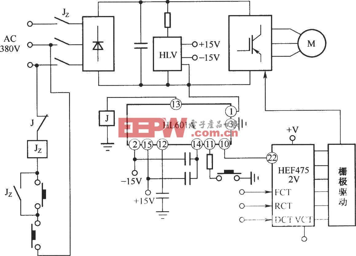 HL610A在三相变频调速系统中的应用