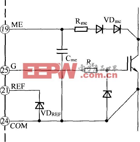 单极性门极驱动电路(0/ 15v)   IGBT