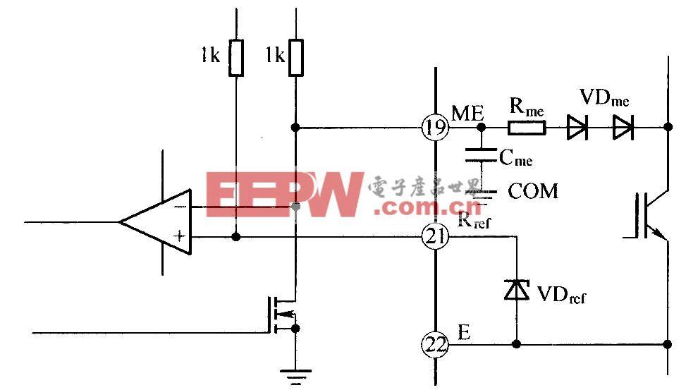 IGBT UCE电压监测原理