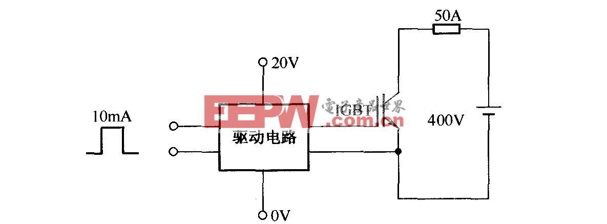 EXB841测试过流波形电路