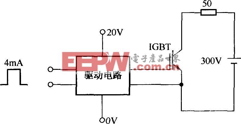 测试EXB850输入、输出波形的电路
