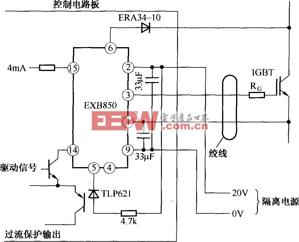 EXB850的应用电路