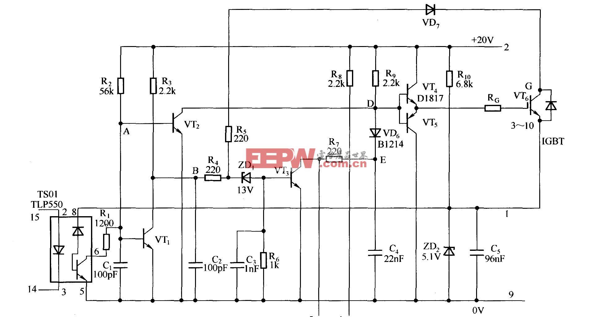 EXB841的原理图
