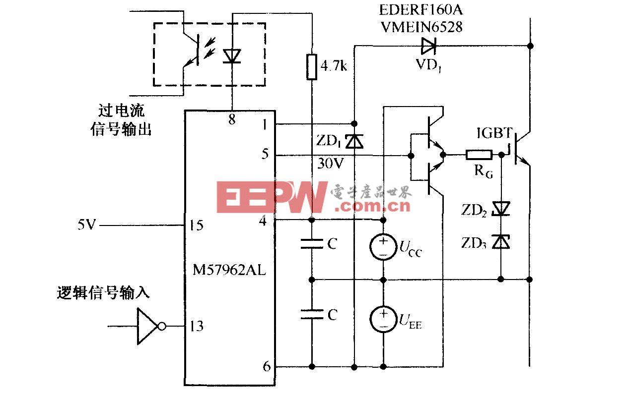 M57962AL的应用电路图
