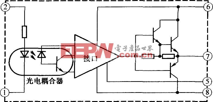 M57957L/M57958L的内部结构及工作原理图