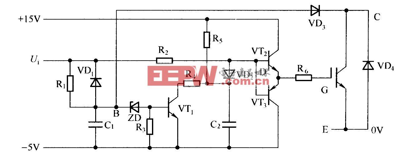 增加软关断技术的驱动电路