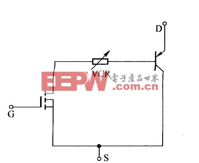 IGBT的VCR(压控电阻)等效电路模型