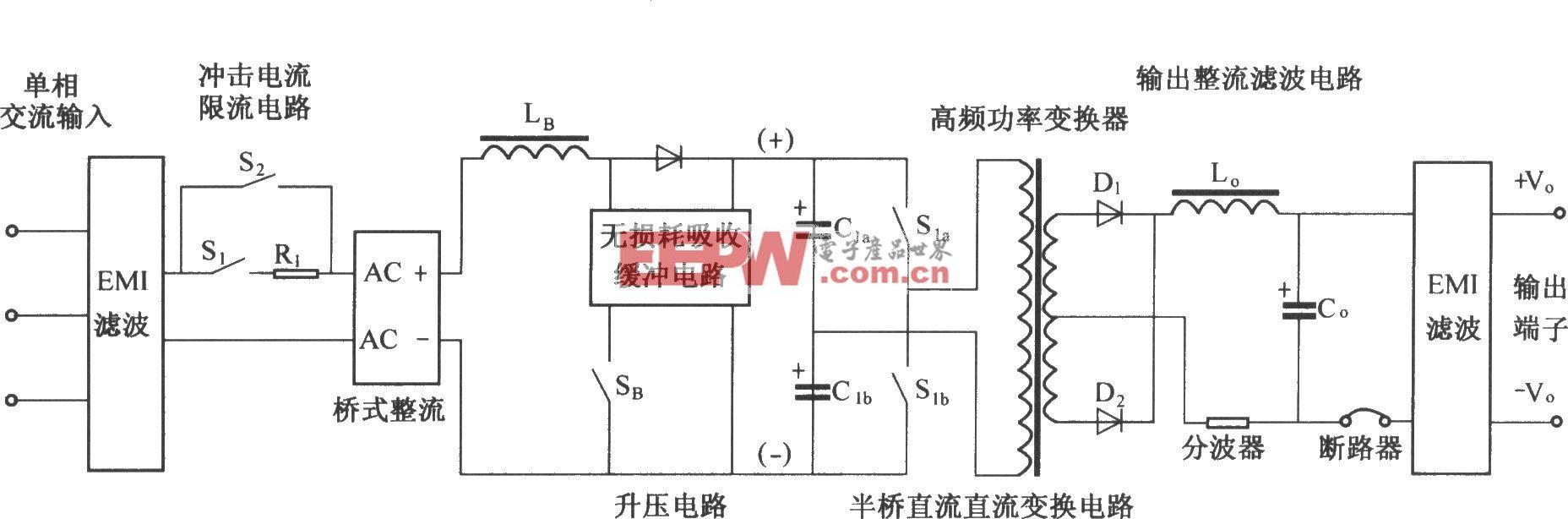 DMAl2主电路原理图