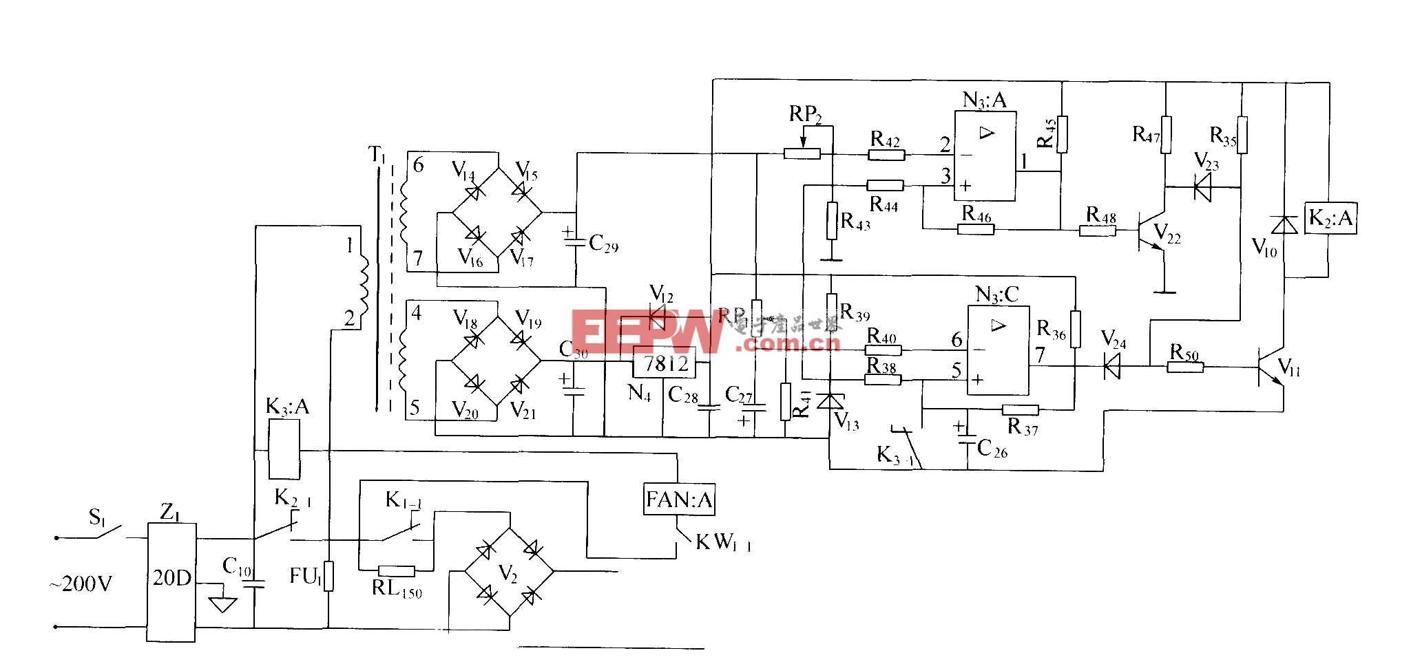 DZW75-48/50(50II)交流过压、欠压保护电路