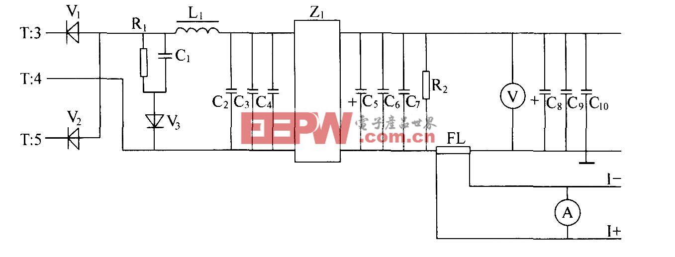 DZW75-48/50(50II)高频整流滤波电路