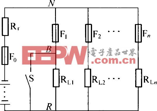 低阻配电电路