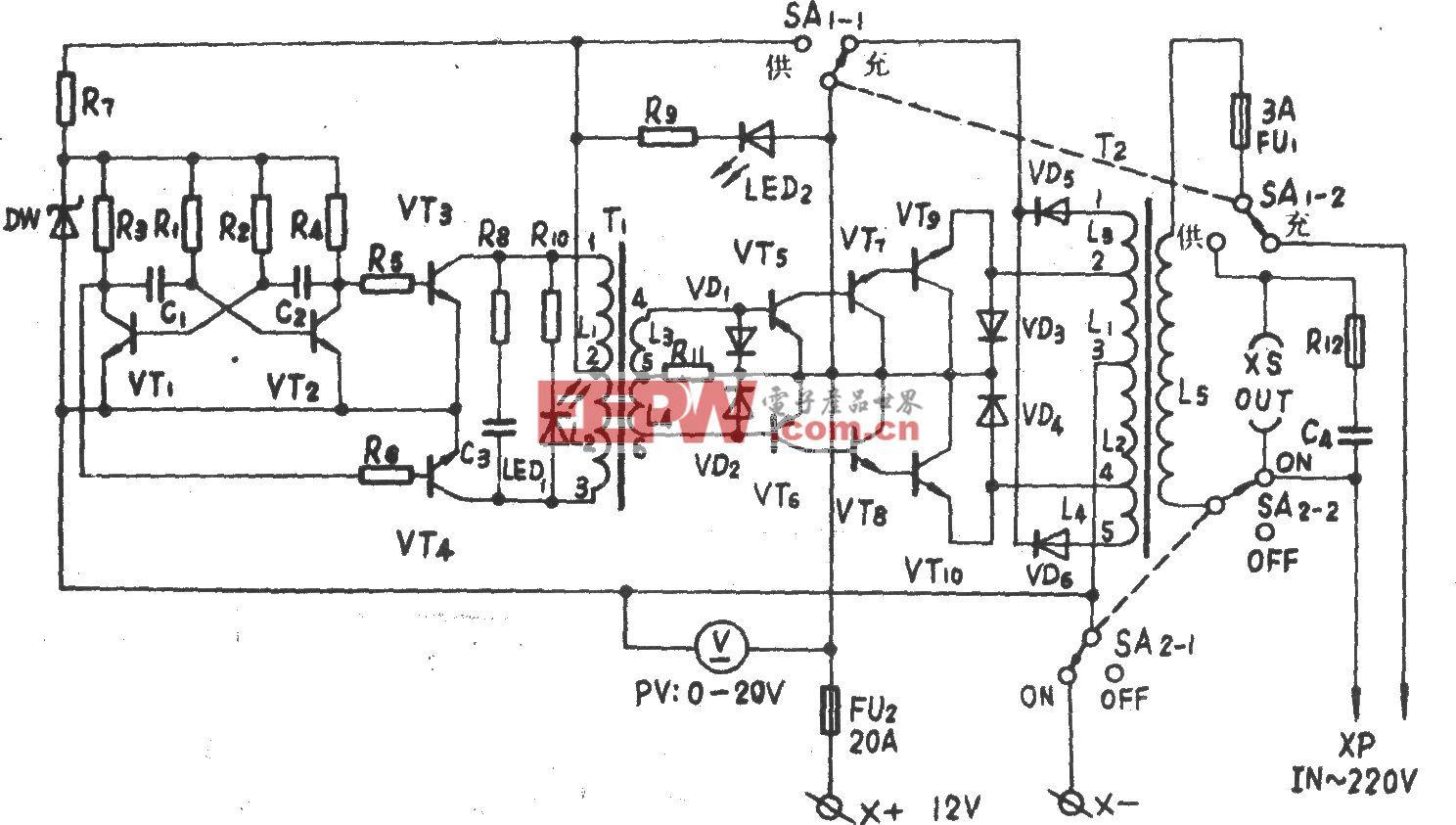 TJ-200VA应急电源