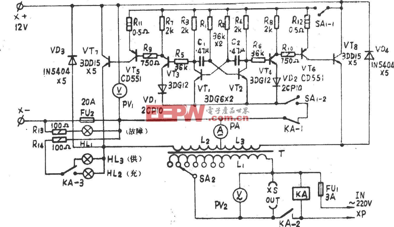 DSK-2-200全自动应急电源