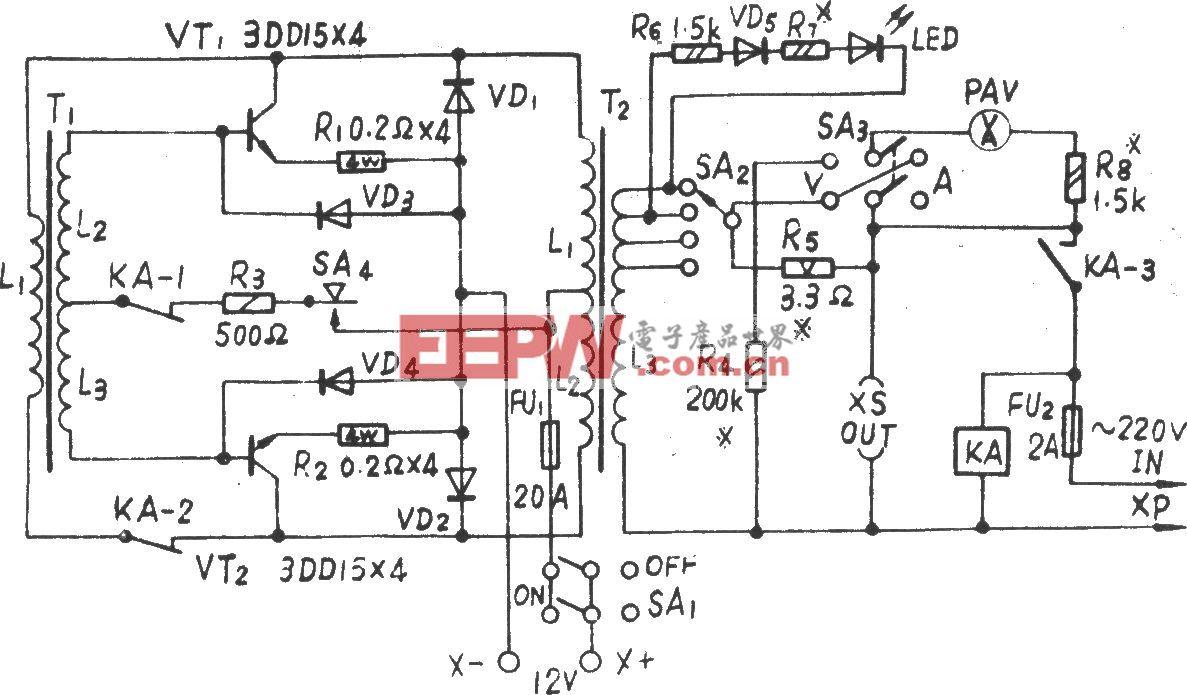 GDQ-200W全自动应急电源