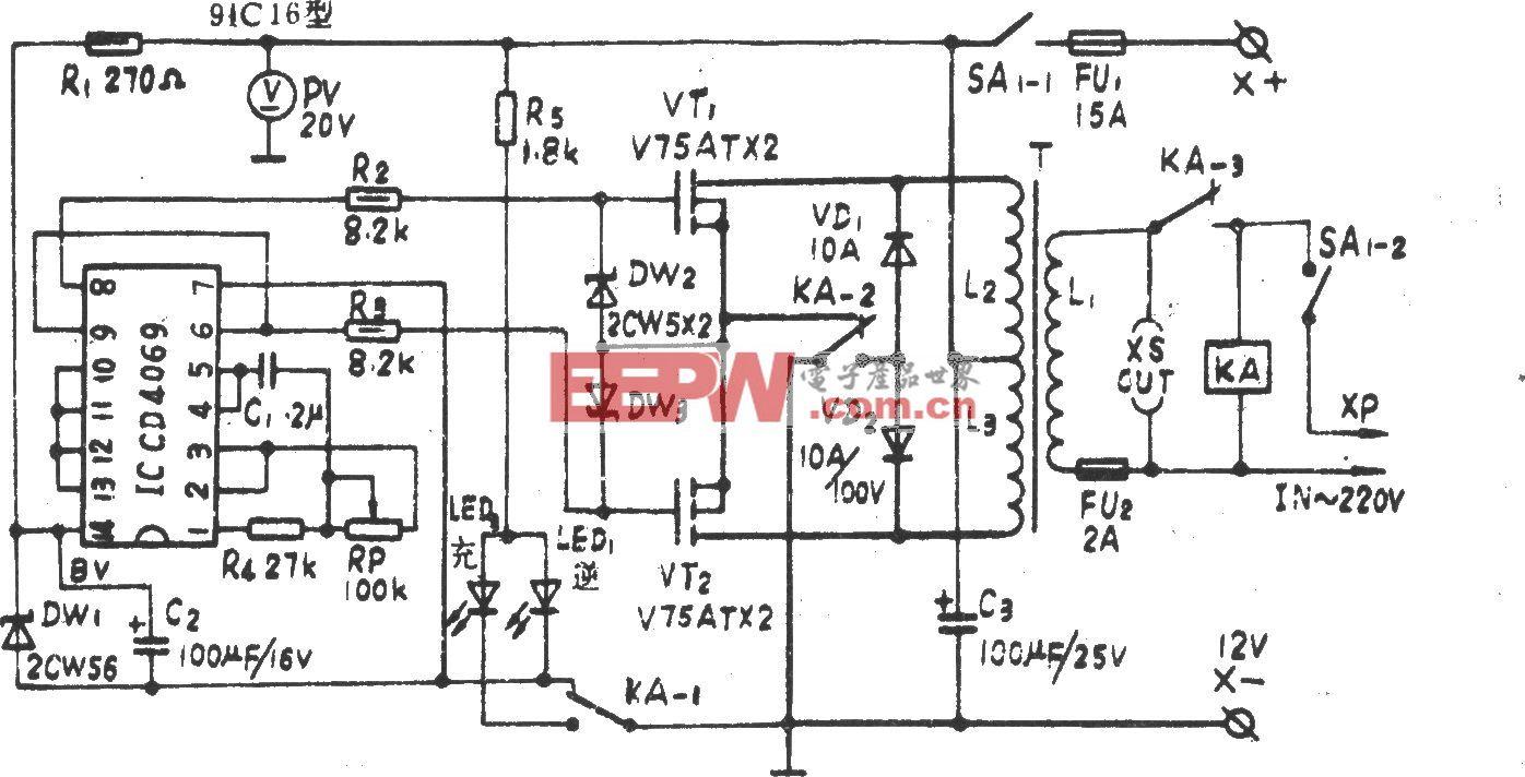 CMOS-VMSO 100W应急电源