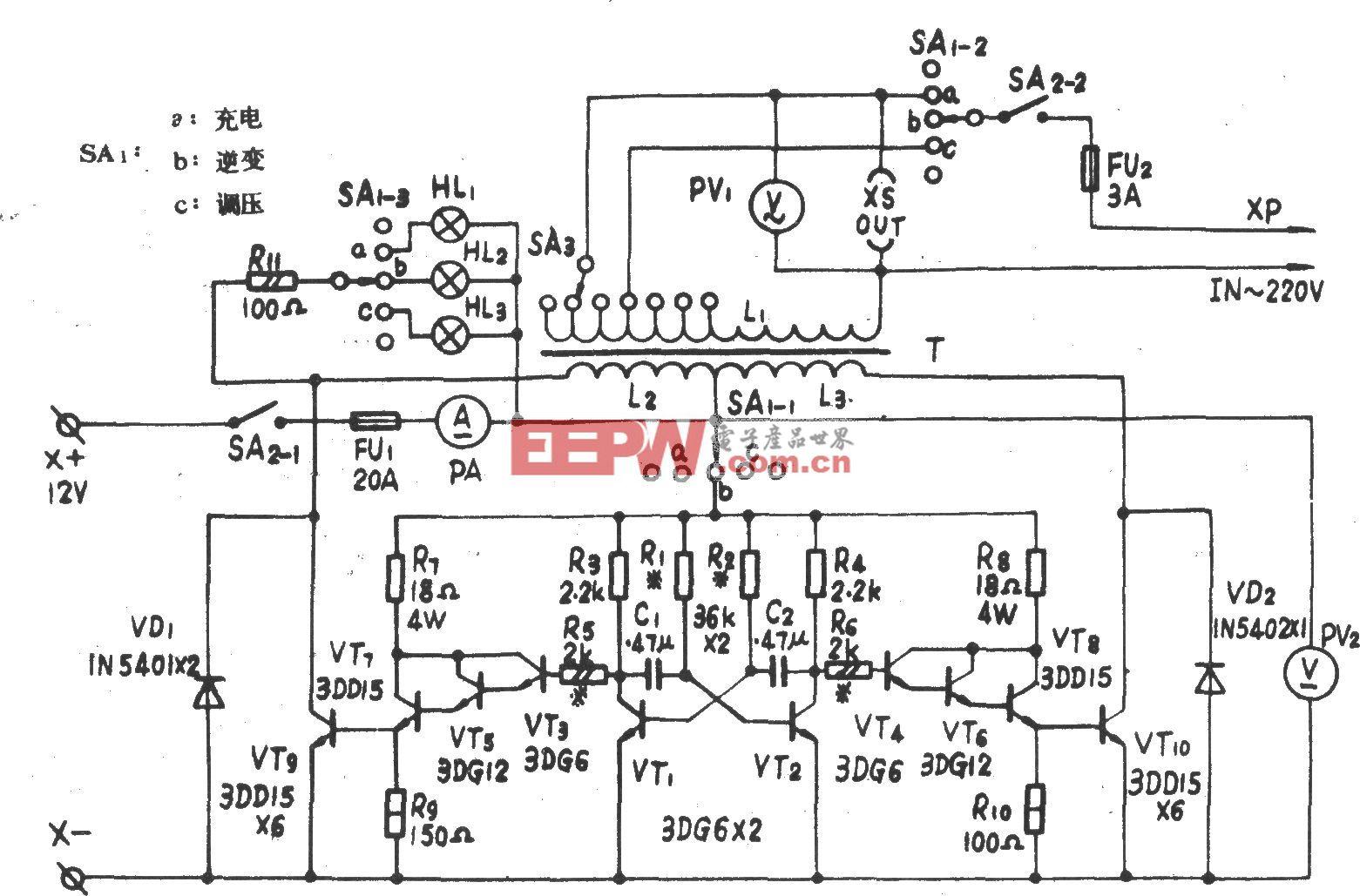 A/D200W多用应急电源