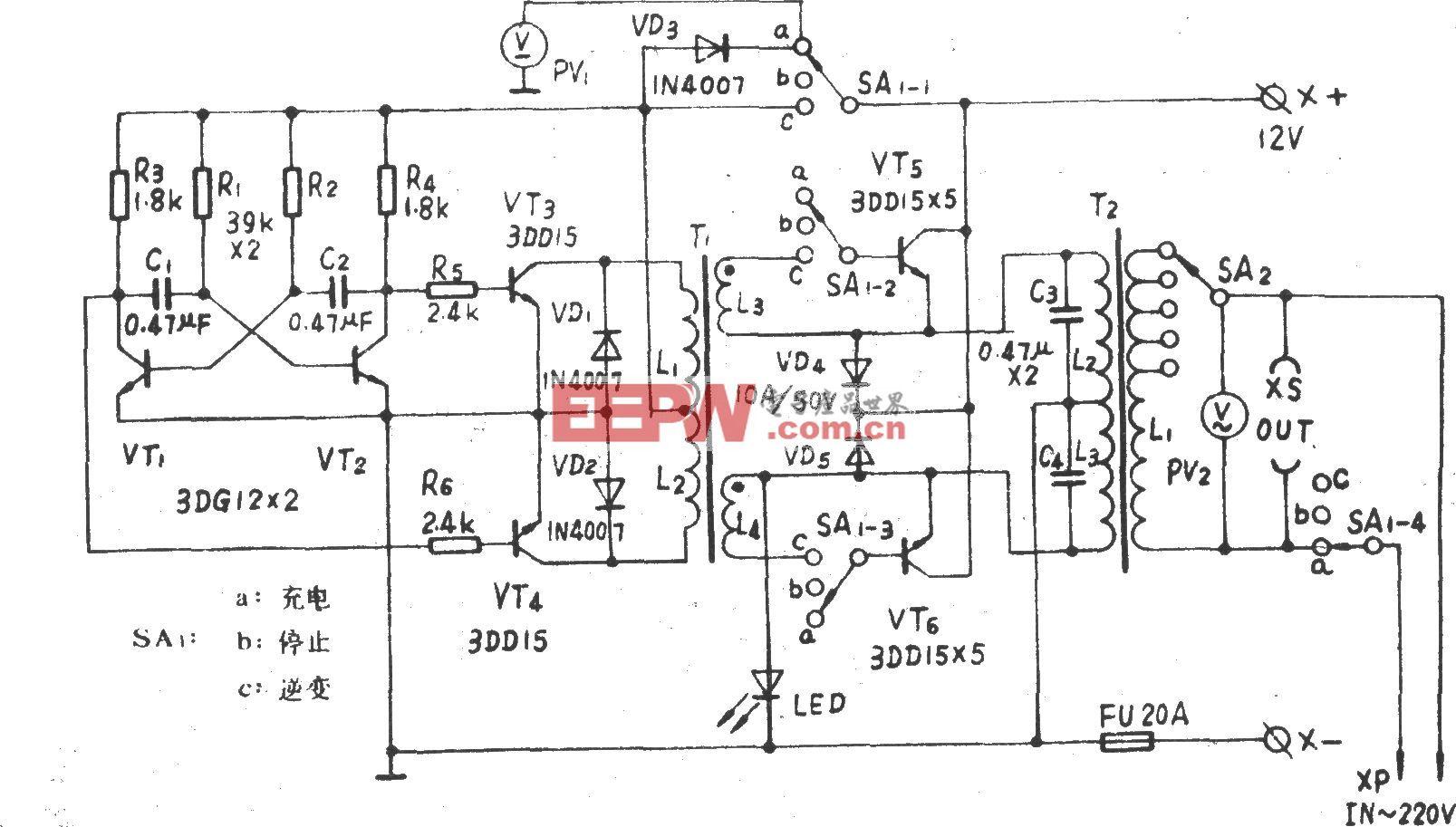 BD200W应急电源
