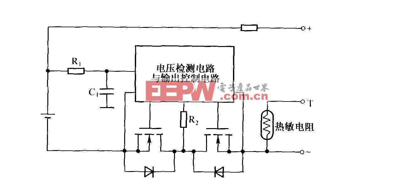 锂离子电池组内的保护电路