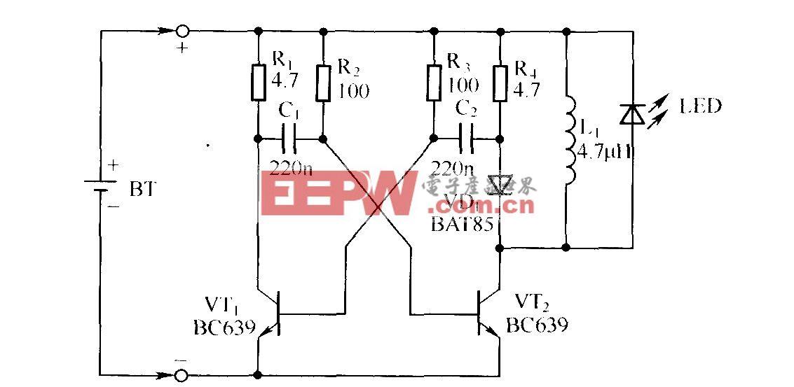 镉镍电池放电器电路