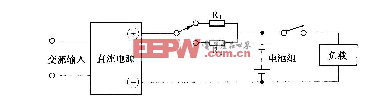 高频开关充电电源组成方框图