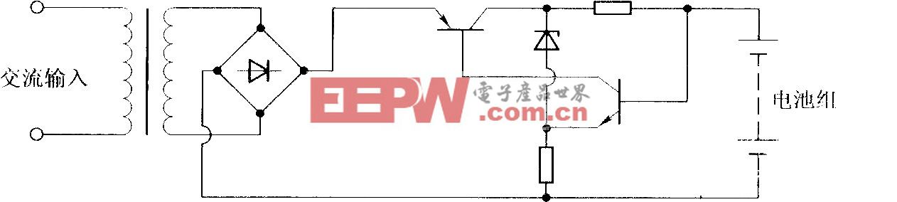 恒流电源充电电路