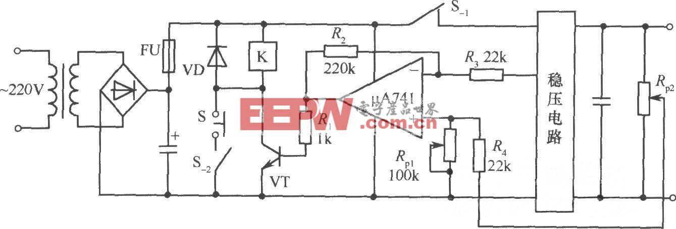 稳压电源增设过压保护电路实例