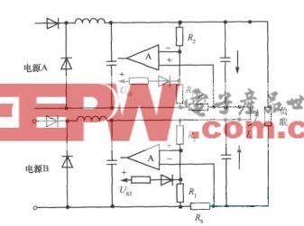 两个电源串联时故障的防止方法(运用フ形过电流保护电路)