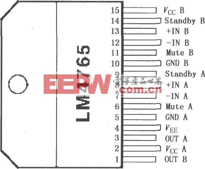 LM4765雙立體聲音頻功率放大器
