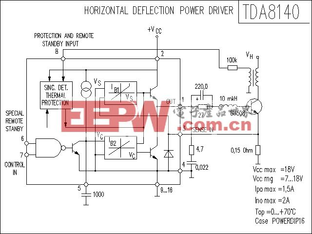 TDA8140功放电路