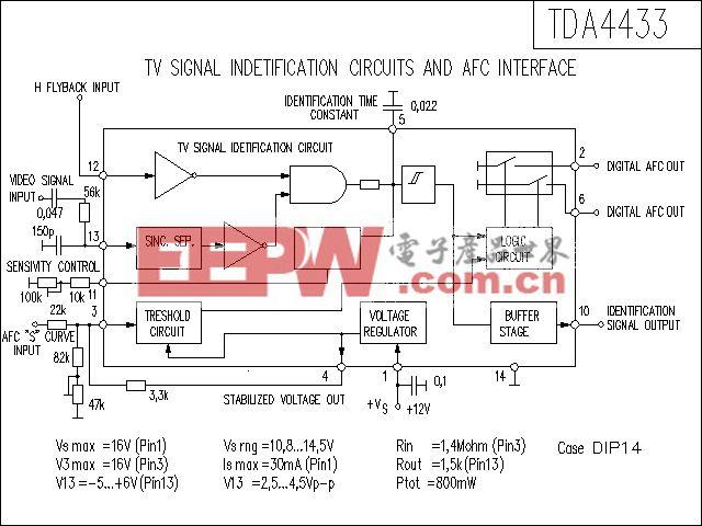 TDA4433功放电路
