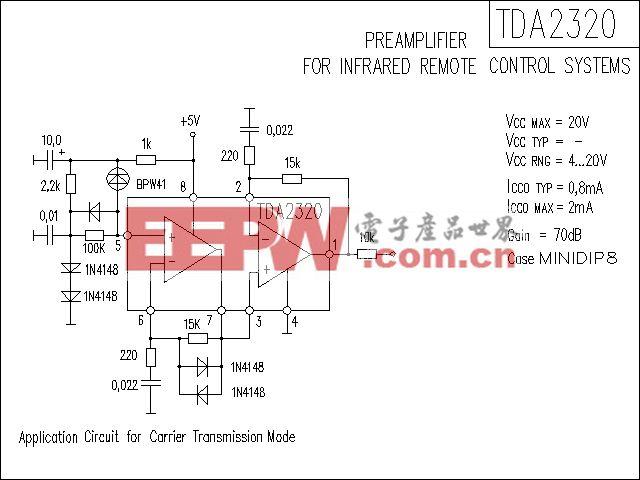 TDA2320功放电路