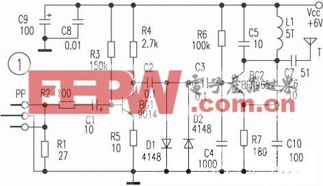 调频型无线耳机电路