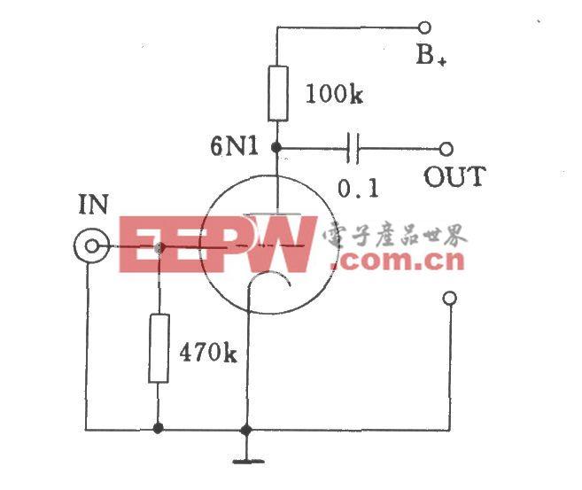 电子管输入电压放大器的输入方式