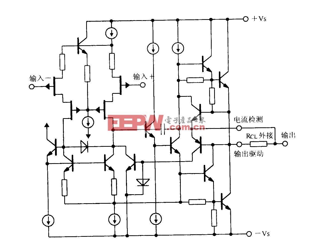 功率运算放大电路OPA541