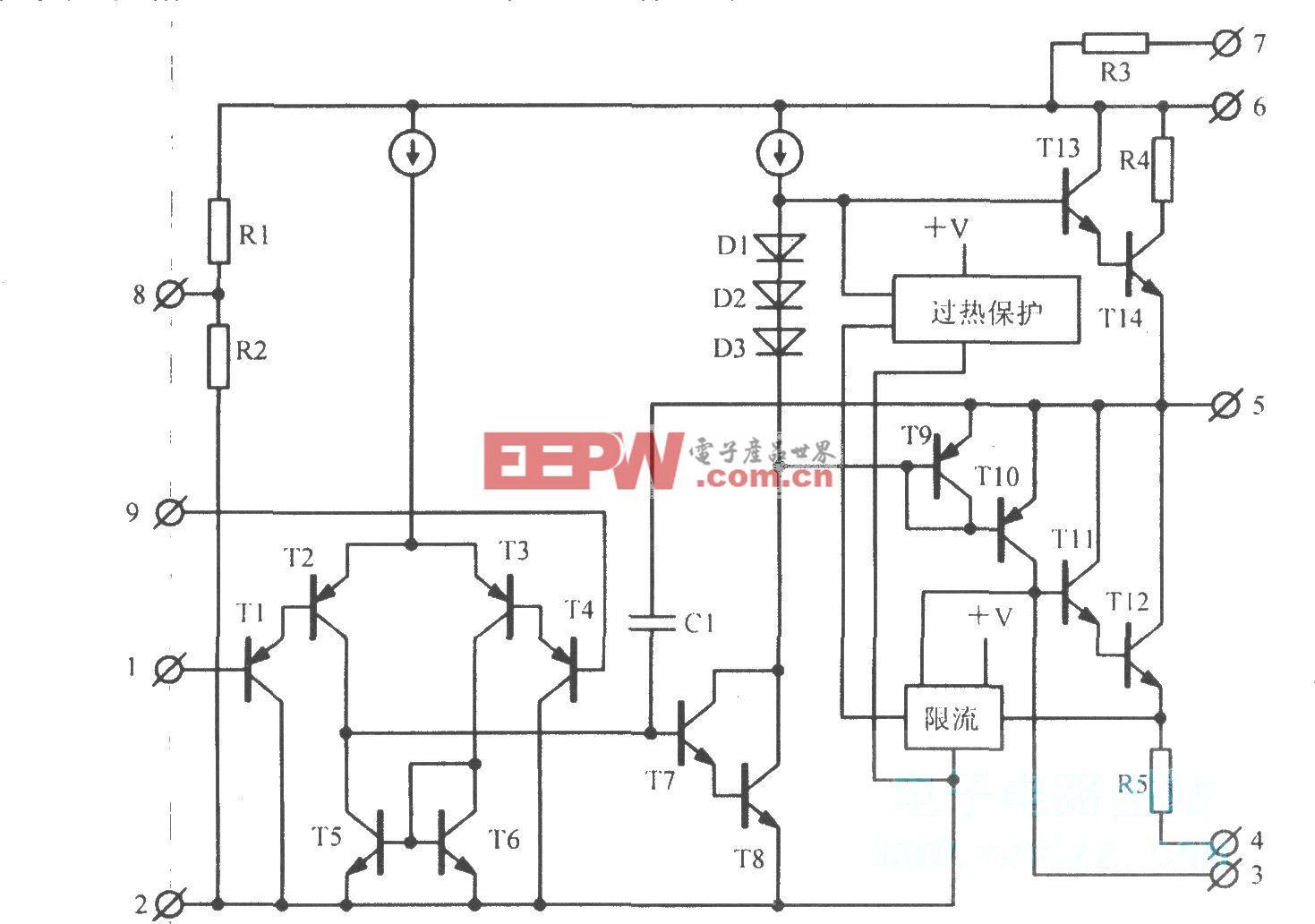音频功率放大电路TDAl512